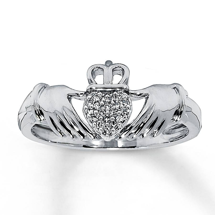 Claddagh Wedding Ring Sets, A Sign Of Eternal Love Bond In Claddagh Engagement Ring Sets (View 8 of 15)