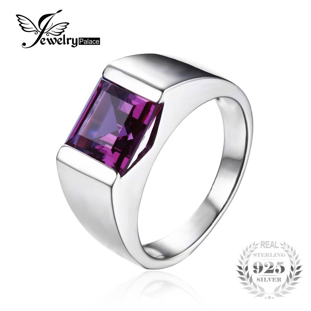 Compare Prices On Alexandrite Wedding Ring  Online Shopping/buy Intended For Alexandrite Wedding Bands (View 7 of 15)