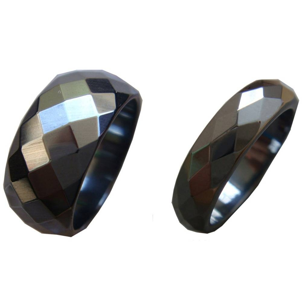 Compare Prices On Hematite Wedding Bands  Online Shopping/buy Low For Hematite Wedding Bands (View 2 of 15)