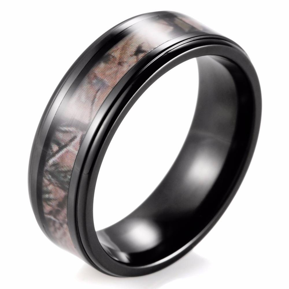 Compare Prices On Hunting Wedding Bands  Online Shopping/buy Low Regarding Duck Hunting Wedding Bands (View 4 of 15)