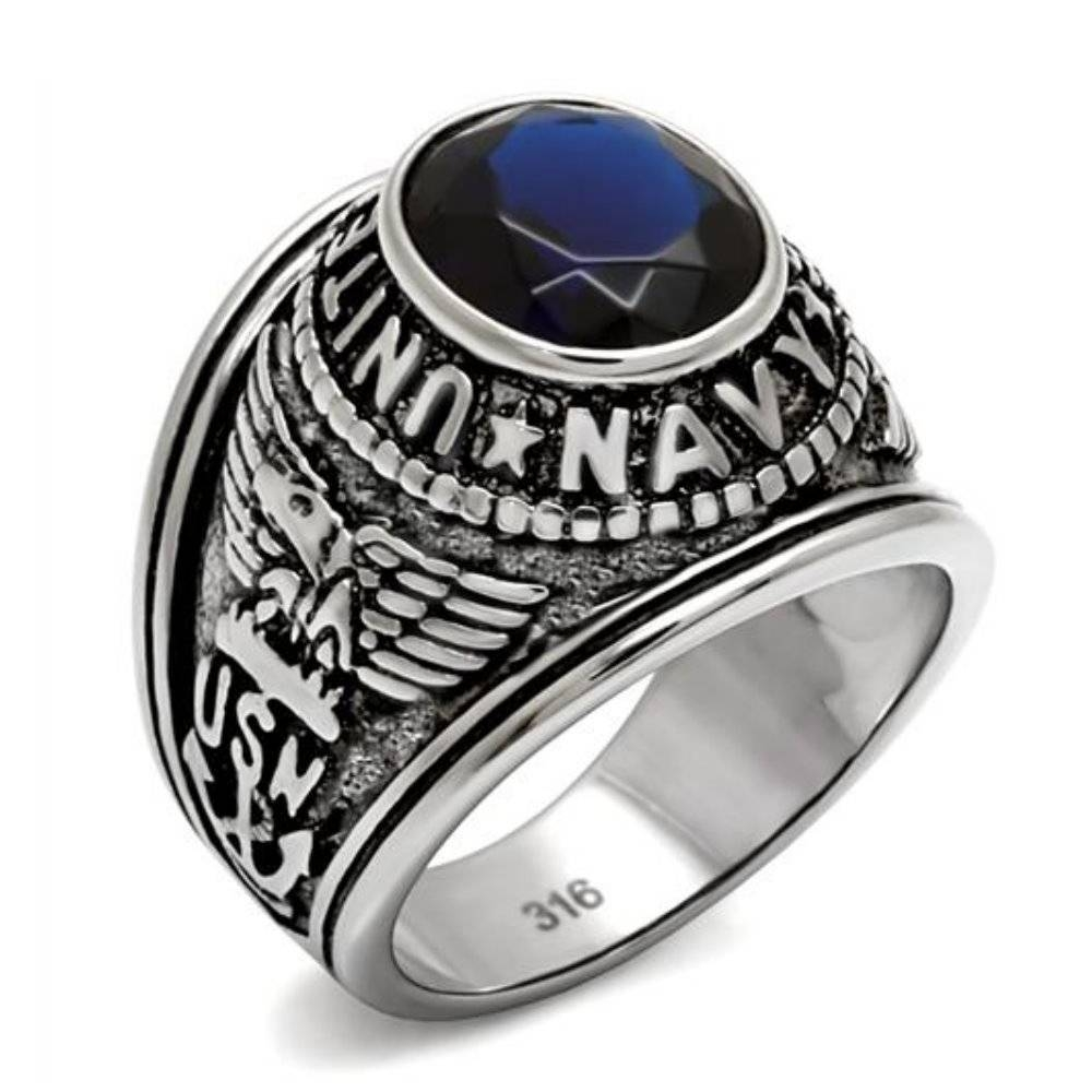 Compare Prices On Marine Wedding Rings Online Shopping/buy Low In Marine Corps Wedding Bands (View 7 of 15)