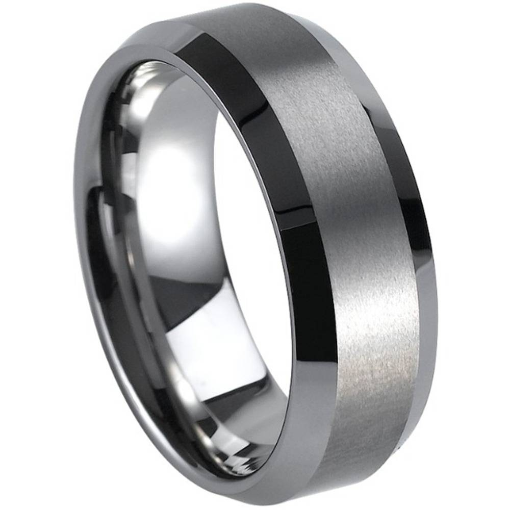 Compare Prices On Plain Mens Rings  Online Shopping/buy Low Price In Men's Wedding Bands Size  (View 1 of 15)