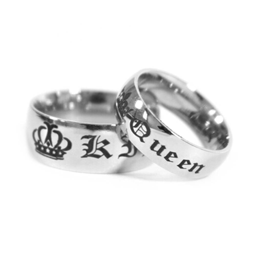 Compare Prices On Rings King Queen Couple  Online Shopping/buy Low Inside King And Queen Engagement Rings (View 8 of 15)