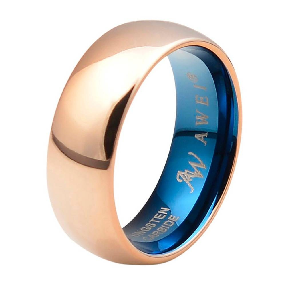 Compare Prices On V Wedding Band  Online Shopping/buy Low Price V With Men's Wedding Bands Size  (View 2 of 15)