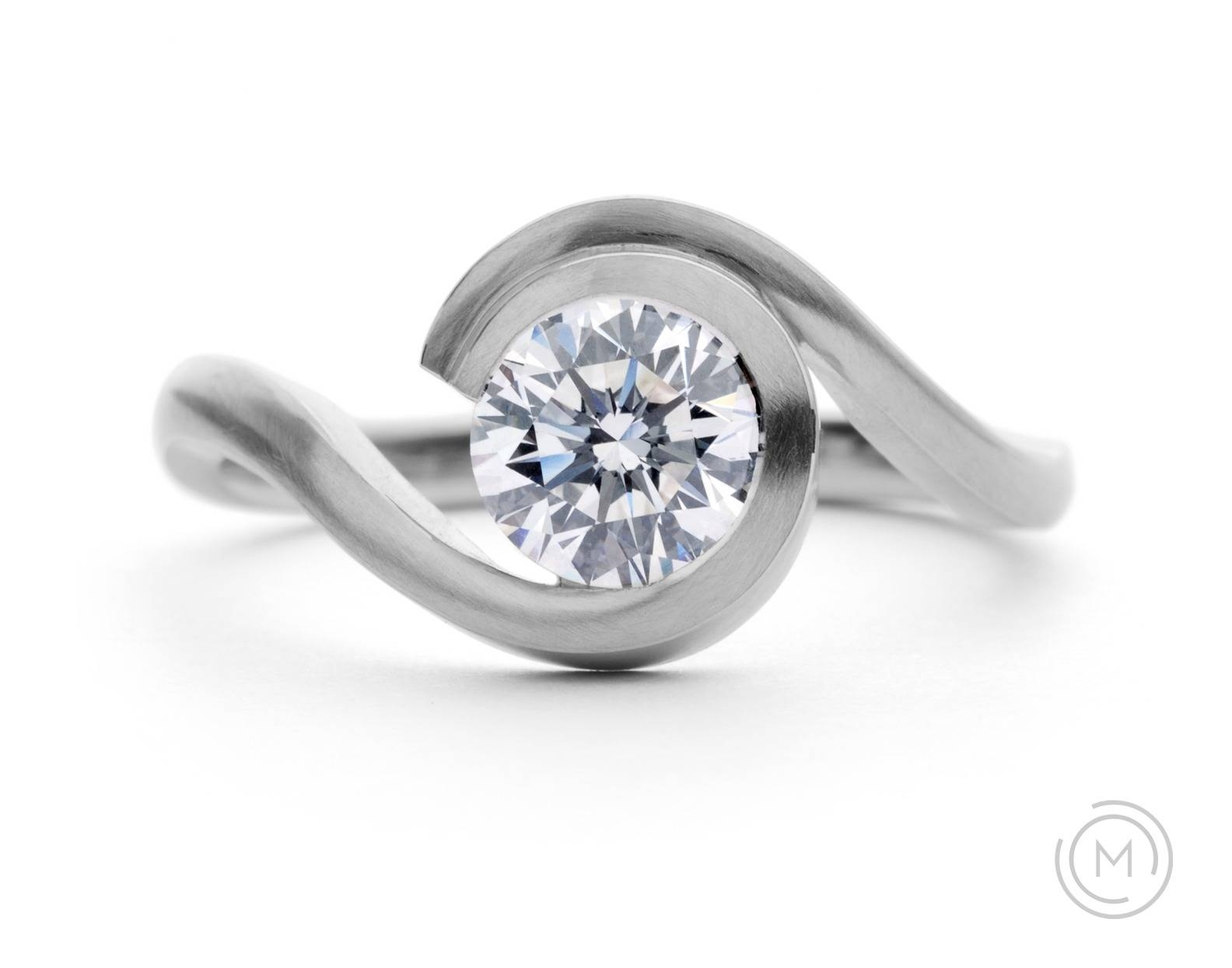 Contemporary Engagement Rings Mccaul Goldsmiths In Wedding Gallery 1 Of