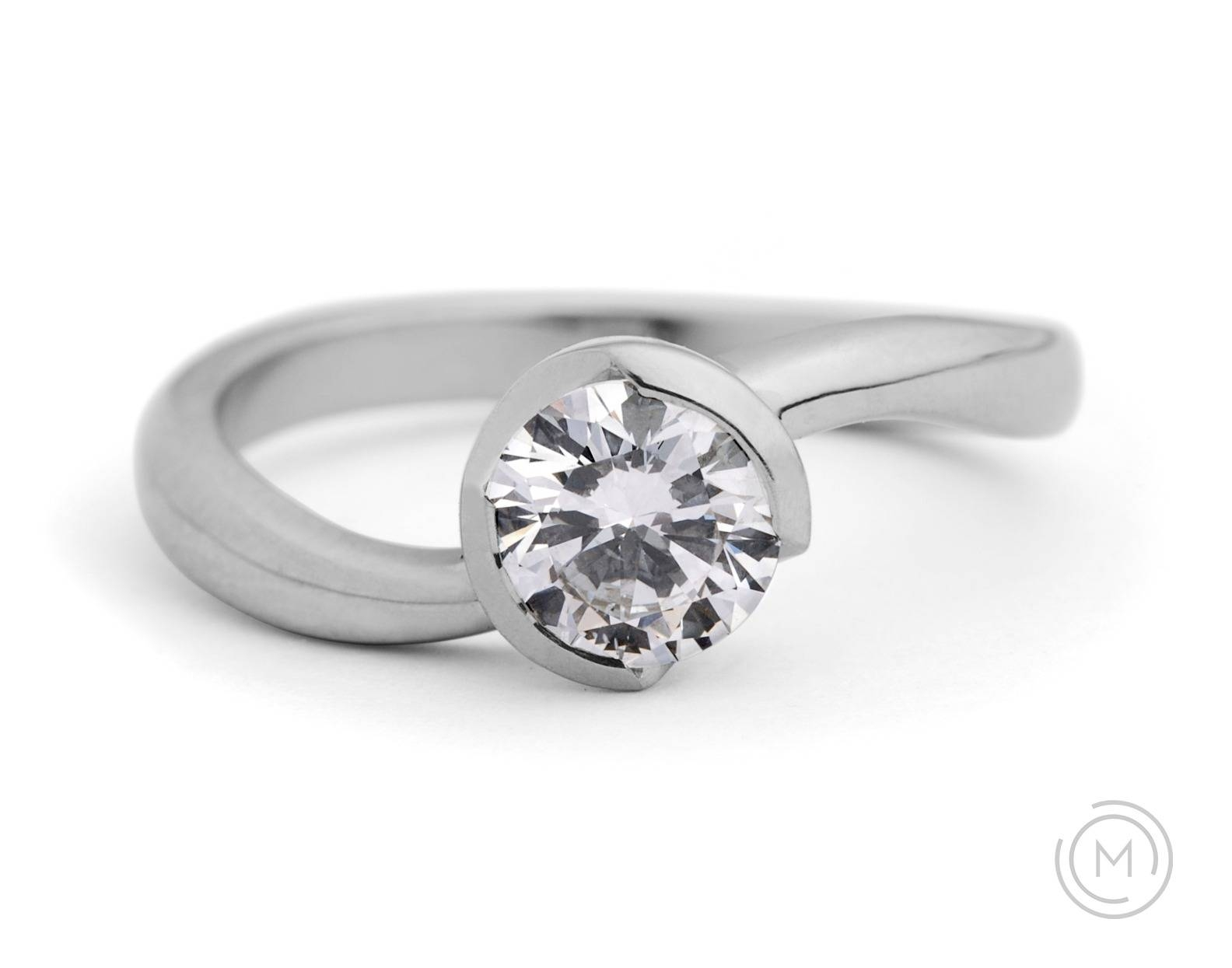 Contemporary Engagement Rings – Mccaul Goldsmiths Inside Contemporary Wedding Rings (View 5 of 15)