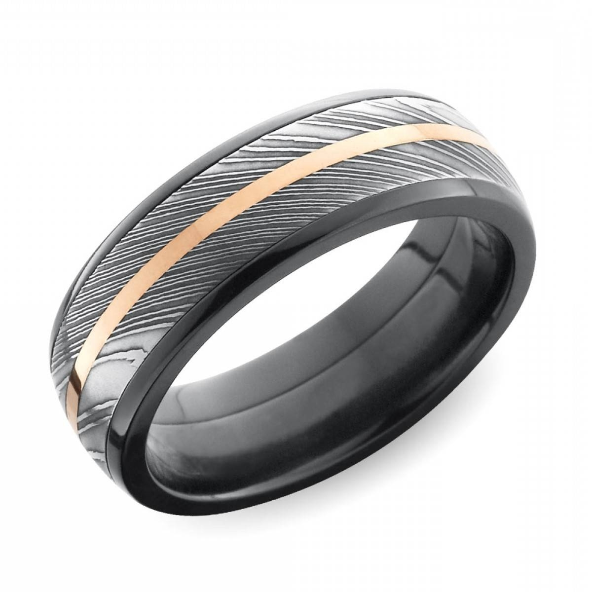 Cool Mens Wedding Rings That Defy Tradition | Oblacoder Inside Cool Mens Wedding Bands (View 14 of 15)