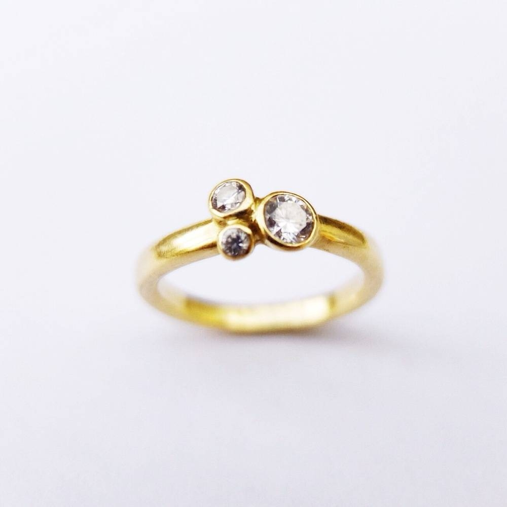 Cool Wedding Rings For Newlyweds: Handmade Diamond Engagement Rings Uk With Regard To Hand Made Engagement Rings (View 3 of 15)