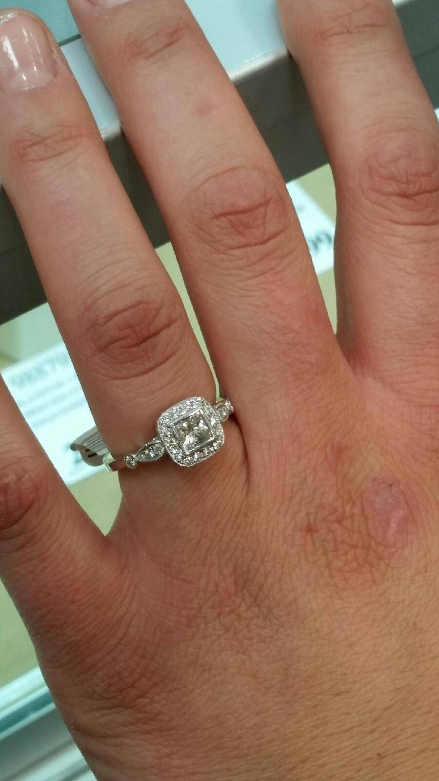 Costco Engagement Ring – Weddingbee In Costco Diamond Wedding Bands (View 6 of 15)