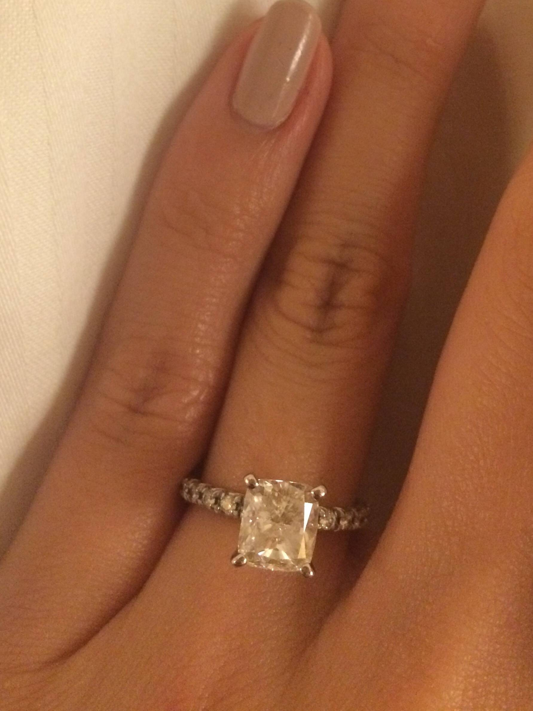 Costco Engagement Ring – Weddingbee Intended For Costco Princess Cut Engagement Rings (View 2 of 15)