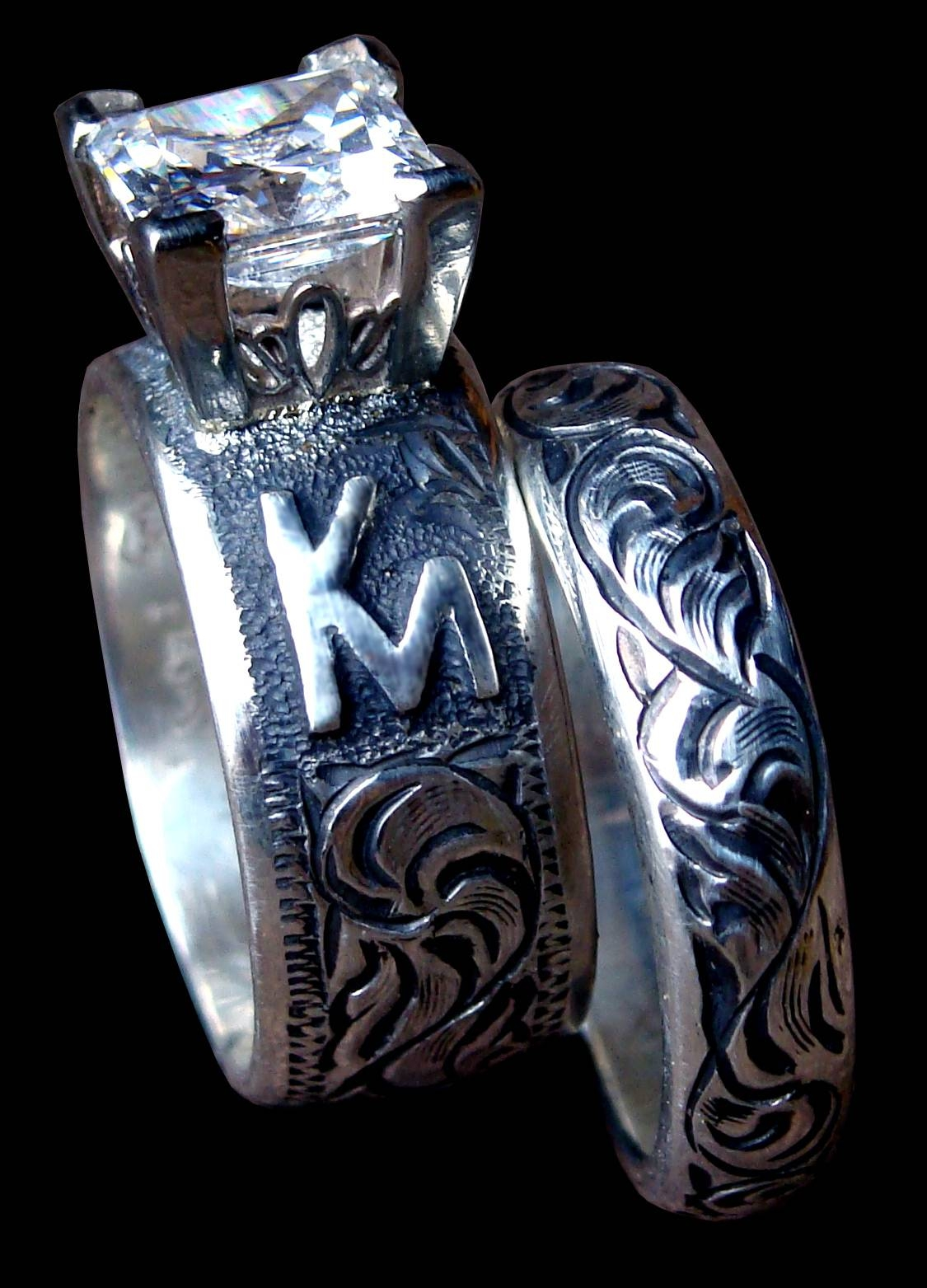 Cowboyjewelers Within Western Engraved Wedding Rings (View 1 of 15)