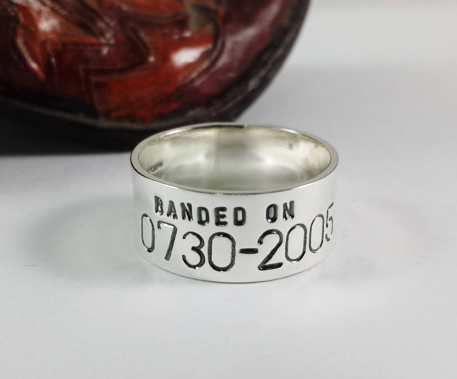 Photo Gallery of Custom Duck Bands Wedding Rings For Men Viewing 3