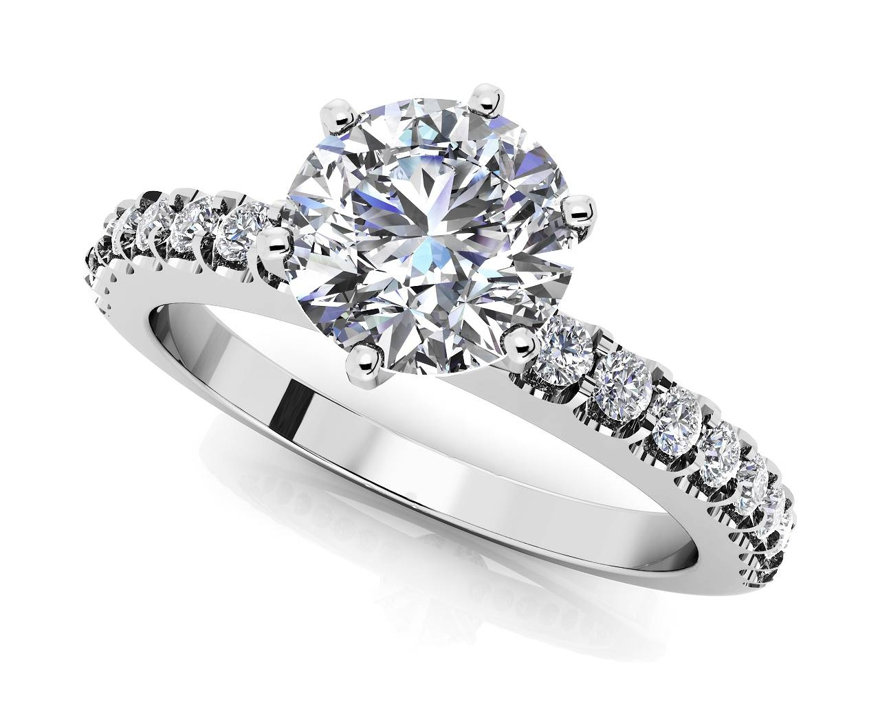 Customize Your Own High Quality Diamond Engagement Ring Regarding Certified Diamond Wedding Rings (View 3 of 15)