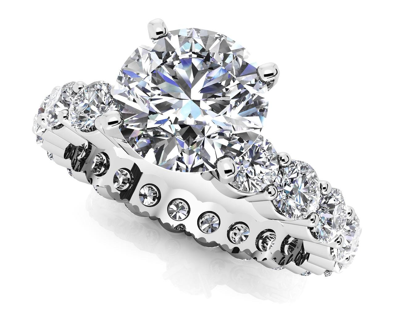 Customize Your Own High Quality Diamond Engagement Ring Throughout Diamond Wedding Rings (View 4 of 15)