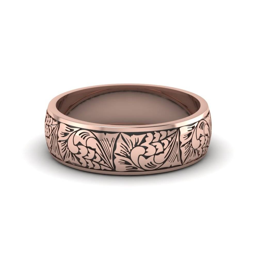 Delightful Ideas Rose Gold Mens Wedding Ring Buy Affordable Mens Regarding Cheap Rose Gold Wedding Bands (View 5 of 15)