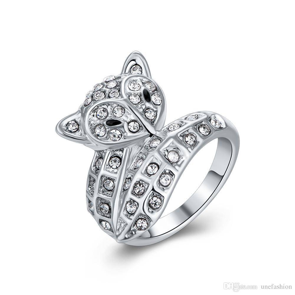 Design Jewelry Rings America European Style White Gold Diamond Pertaining To European Wedding Rings (View 11 of 15)