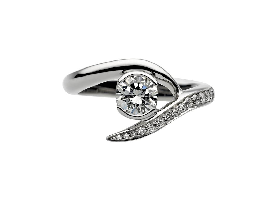 Designer Diamond Jewellery | Unique Engagement Rings | Shaun Leane Intended For Interlocking Engagement Rings (Gallery 4 of 15)