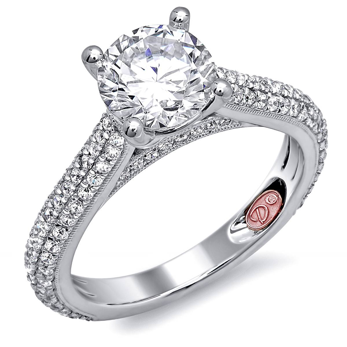 Designer Engagement Ring | Demarco Bridal Jewelry Official Blog Throughout Designing An Engagement Rings (View 3 of 15)