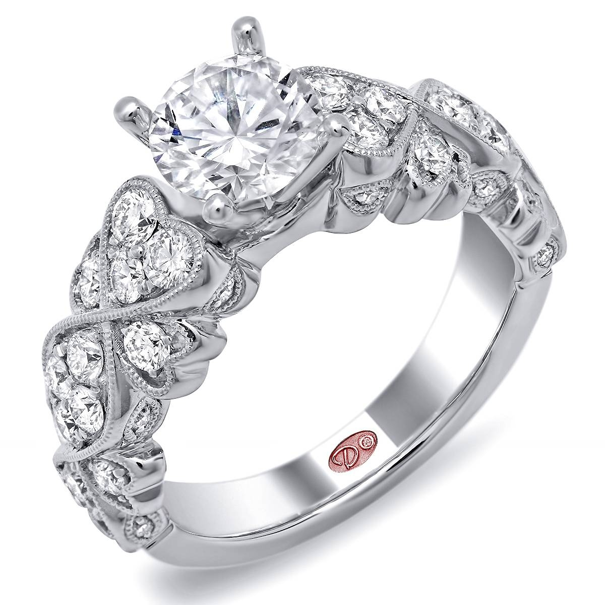 Designer Engagement Ring – Dw6233 In Designing An Engagement Rings (View 2 of 15)