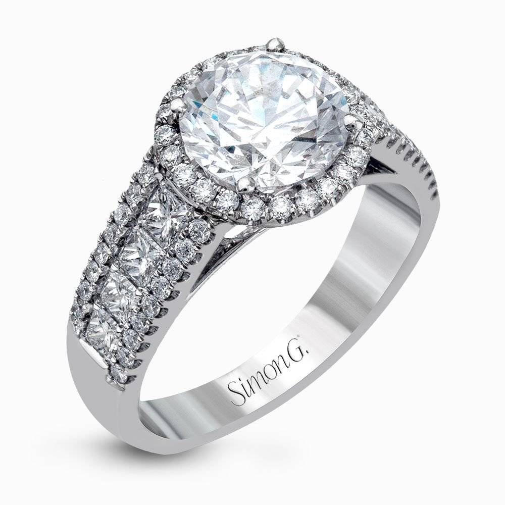 Designer Engagement Rings And Custom Bridal Sets | Simon G. Pertaining To Custom Designed Wedding Rings (Gallery 5 of 15)
