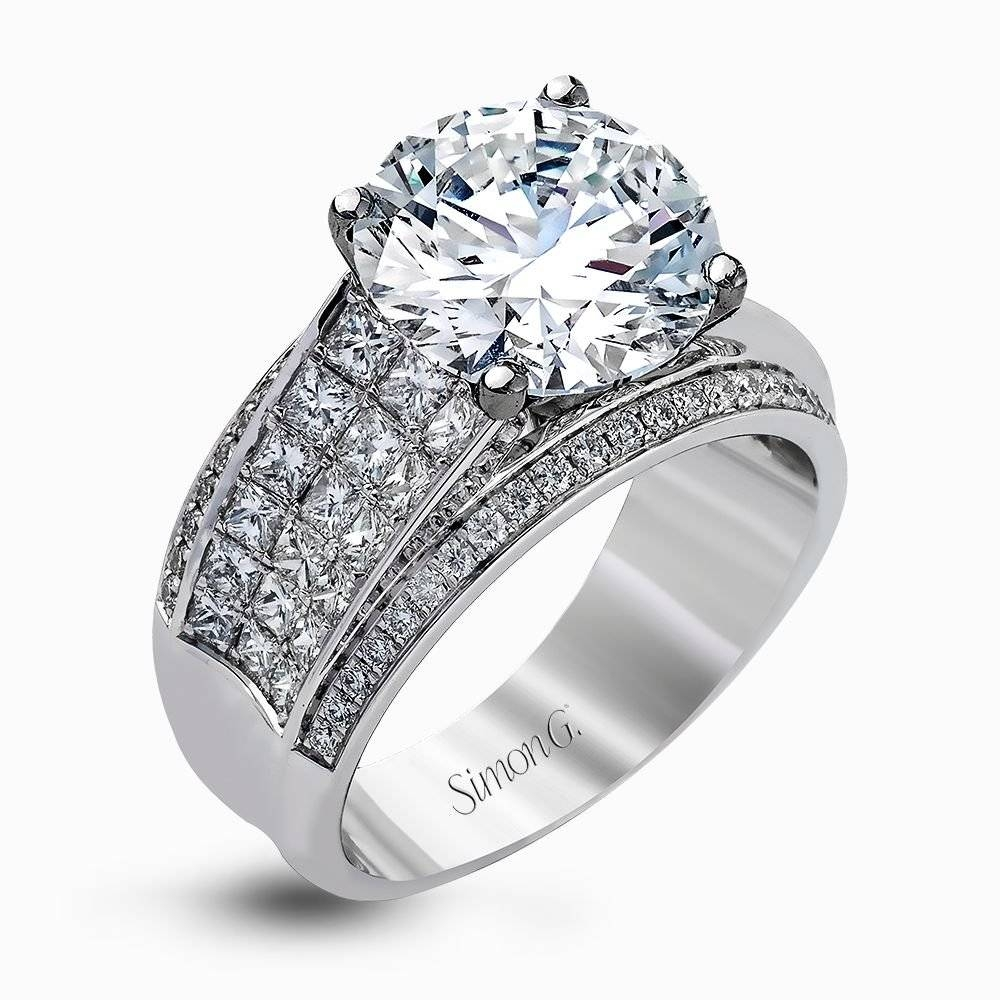 Designer Engagement Rings And Custom Bridal Sets | Simon G (View 7 of 15)