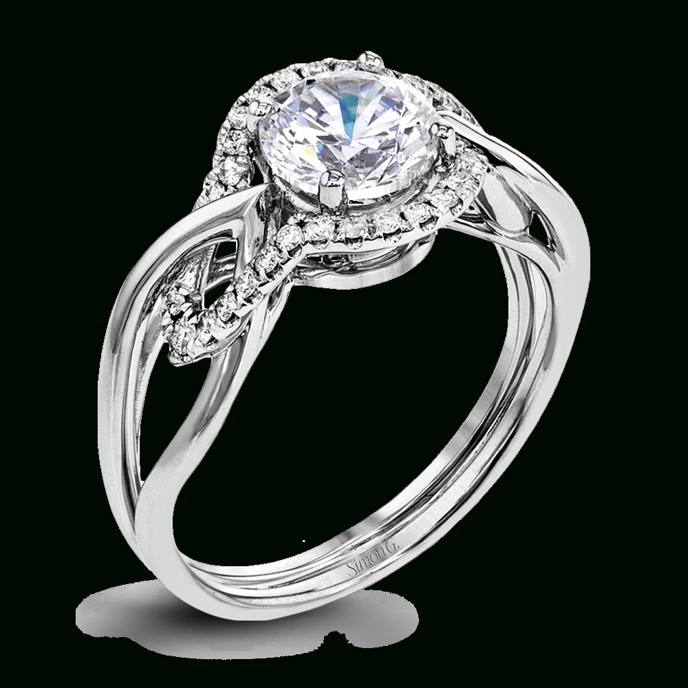 Designer Engagement Rings And Custom Bridal Sets | Simon G. With Interlocking Engagement Rings (Gallery 1 of 15)