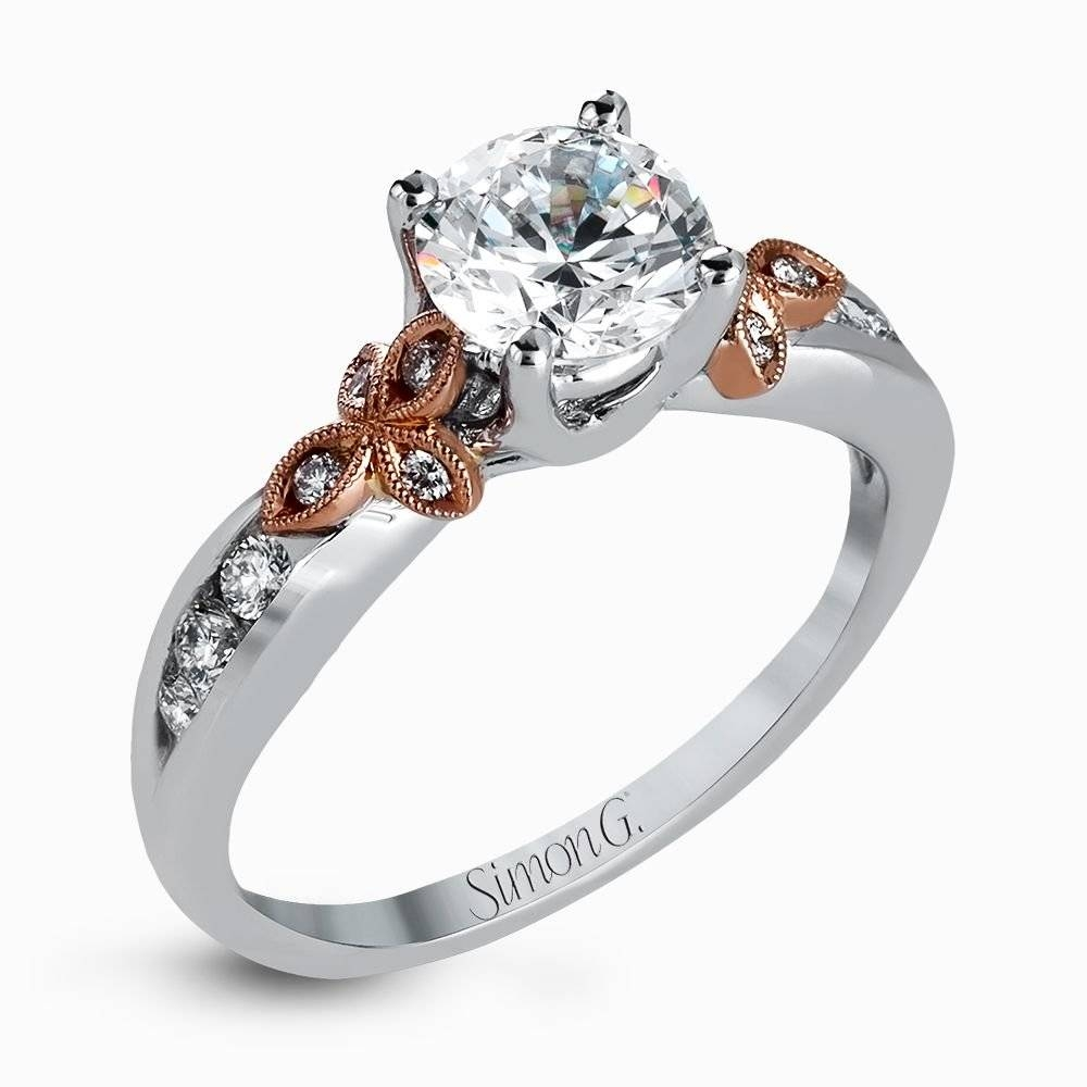 Designer Engagement Rings And Custom Bridal Sets | Simon G (View 13 of 15)