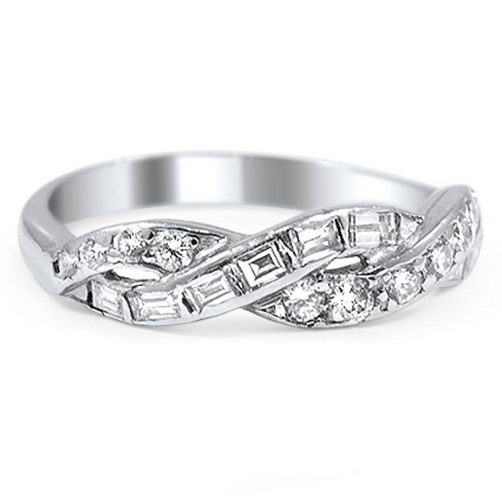 Diamond Bands As Engagement Rings: Proposal Worthy Diamond Bands In Engagement Band Rings (View 11 of 15)
