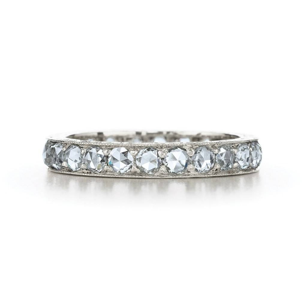 Diamond Bands As Engagement Rings: Proposal Worthy Diamond Bands Inside Engagement Rings Bands (View 10 of 15)