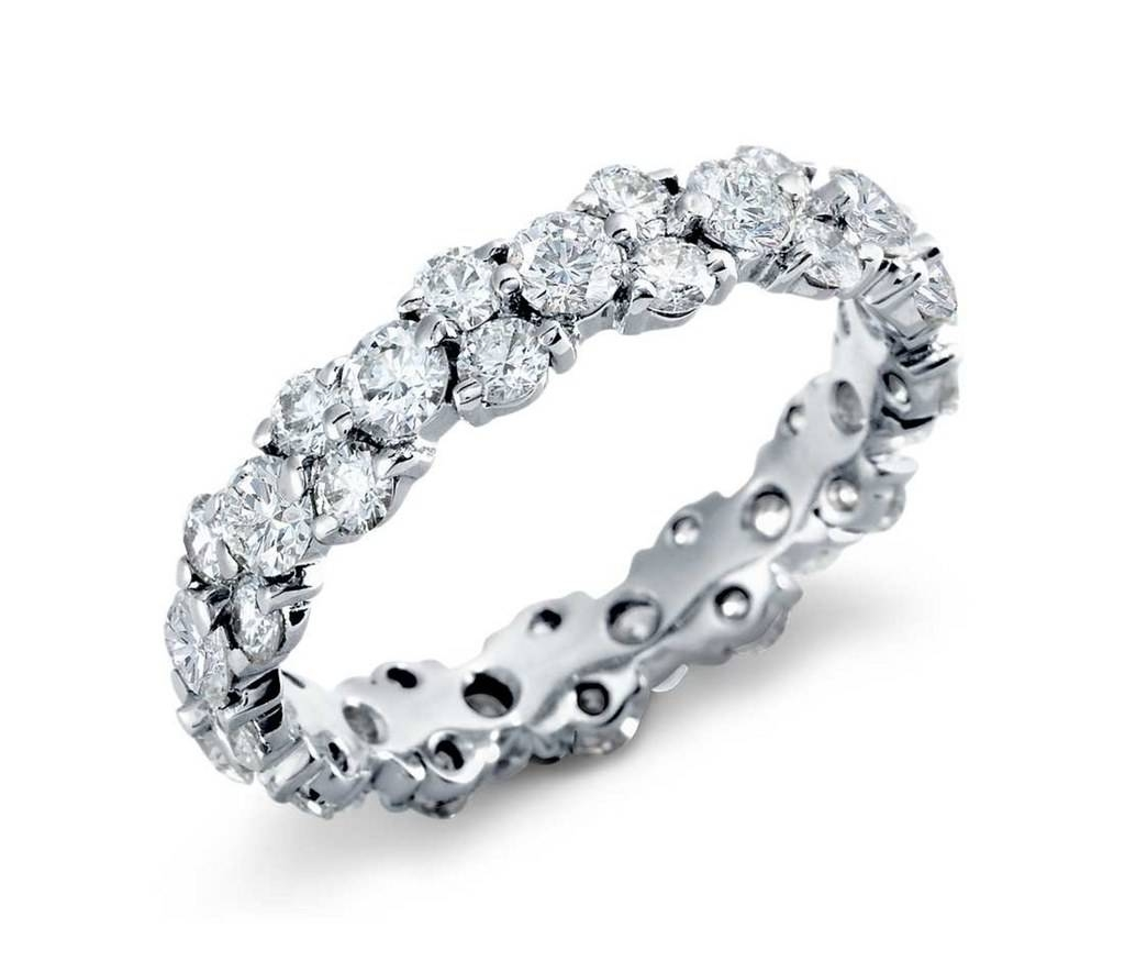 Diamond Bands As Engagement Rings: Proposal Worthy Diamond Bands Intended For Diamond Band Wedding Rings (View 7 of 15)