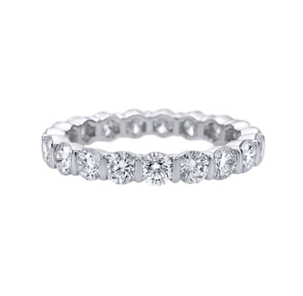 Diamond Bands As Engagement Rings: Proposal Worthy Diamond Bands With Diamond Band Wedding Rings (View 8 of 15)