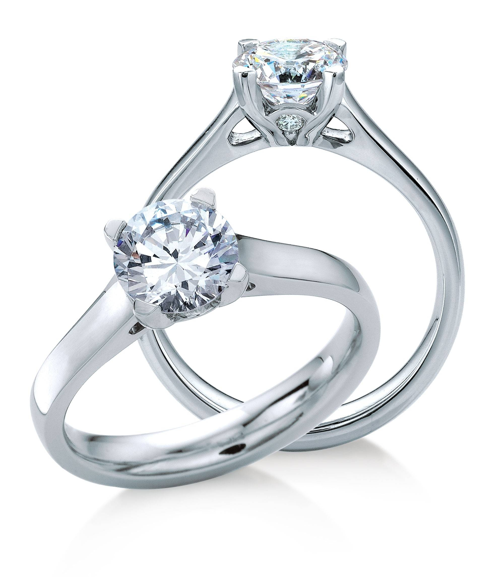 Diamond Engagement Ring (View 3 of 15)