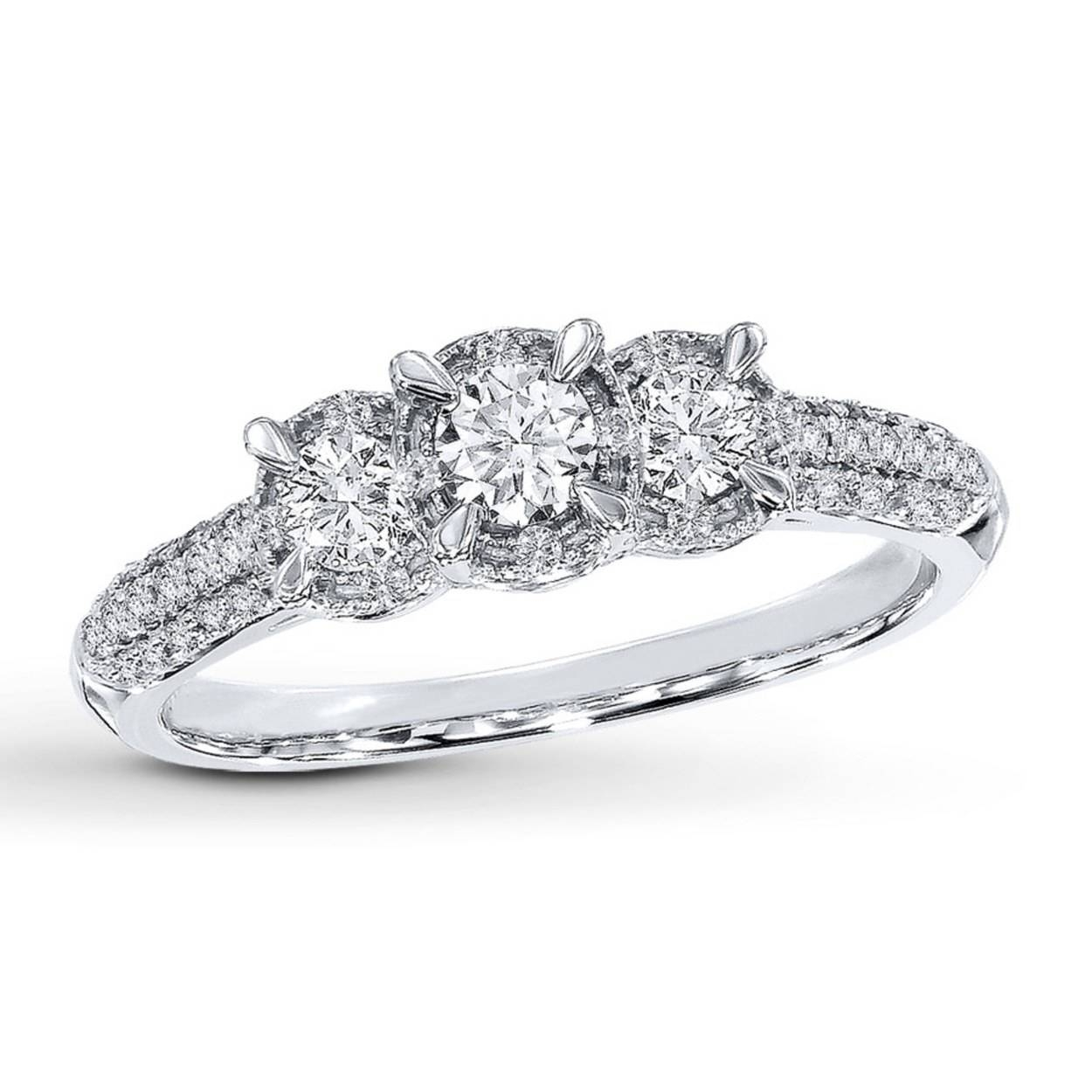 Diamond Engagement Ring (View 4 of 15)