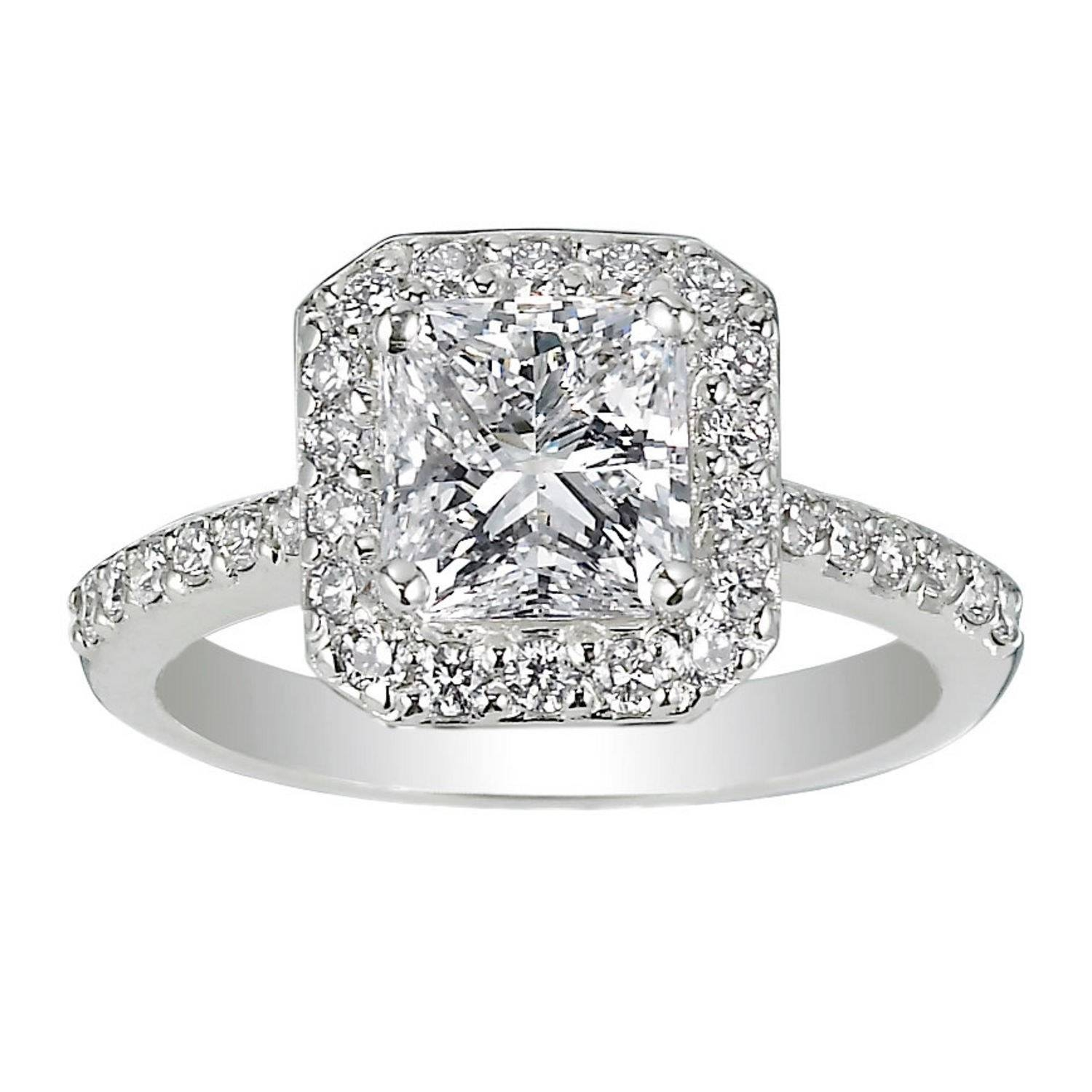 Diamond Engagement Ring (View 5 of 15)