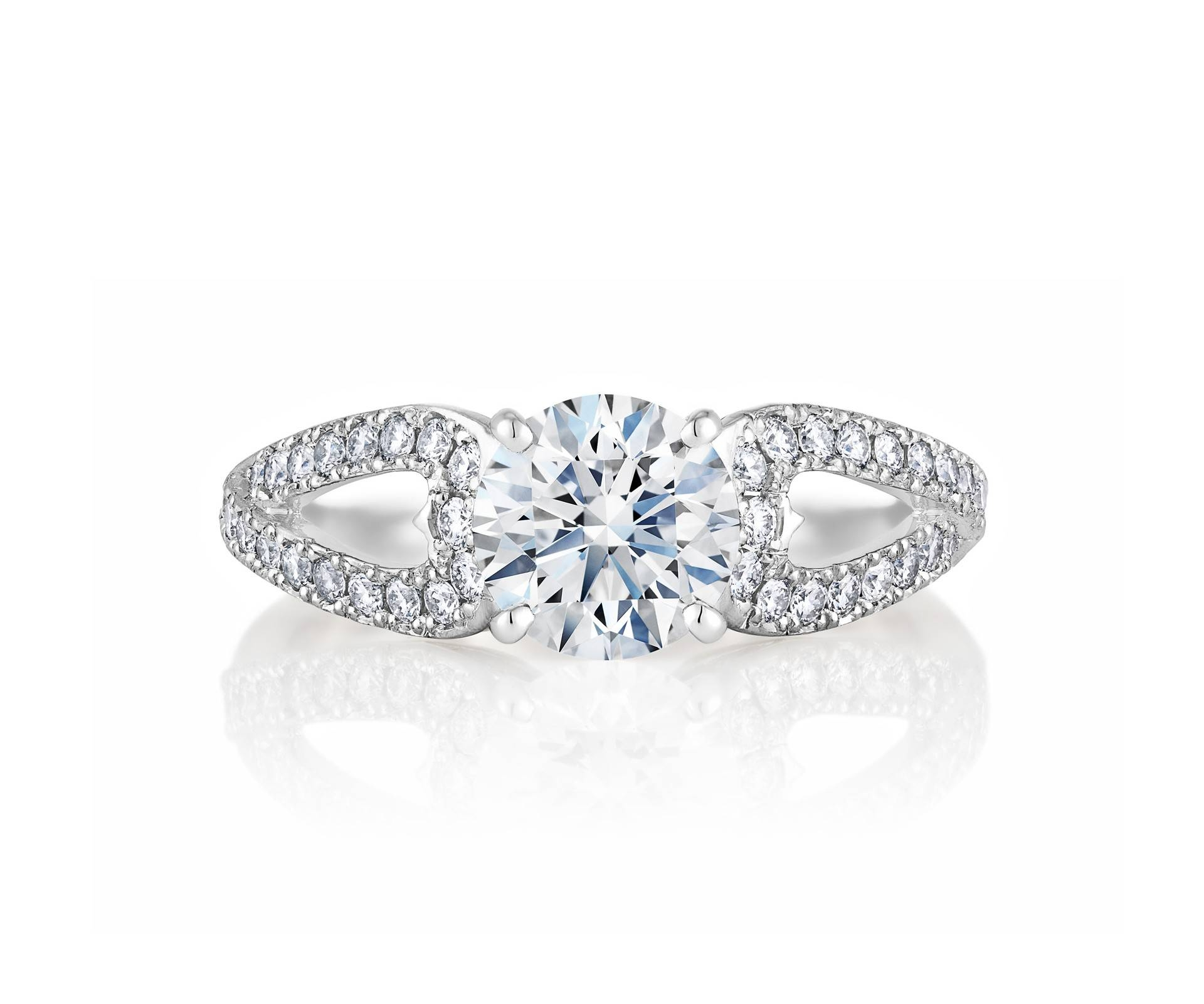 Diamond Engagement Rings & Promise Rings | De Beers Regarding Infinity Style Engagement Rings (View 7 of 15)