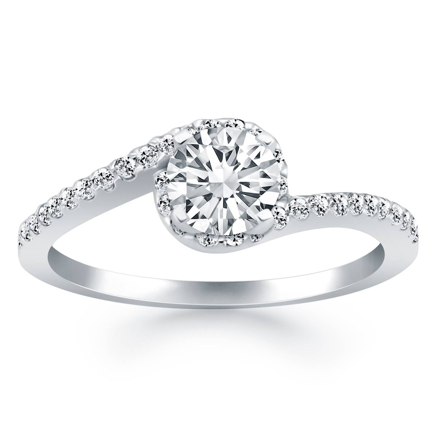 Diamond Engagement Rings – Richard Cannon Jewelry Regarding Spiral Engagement Rings (View 3 of 15)