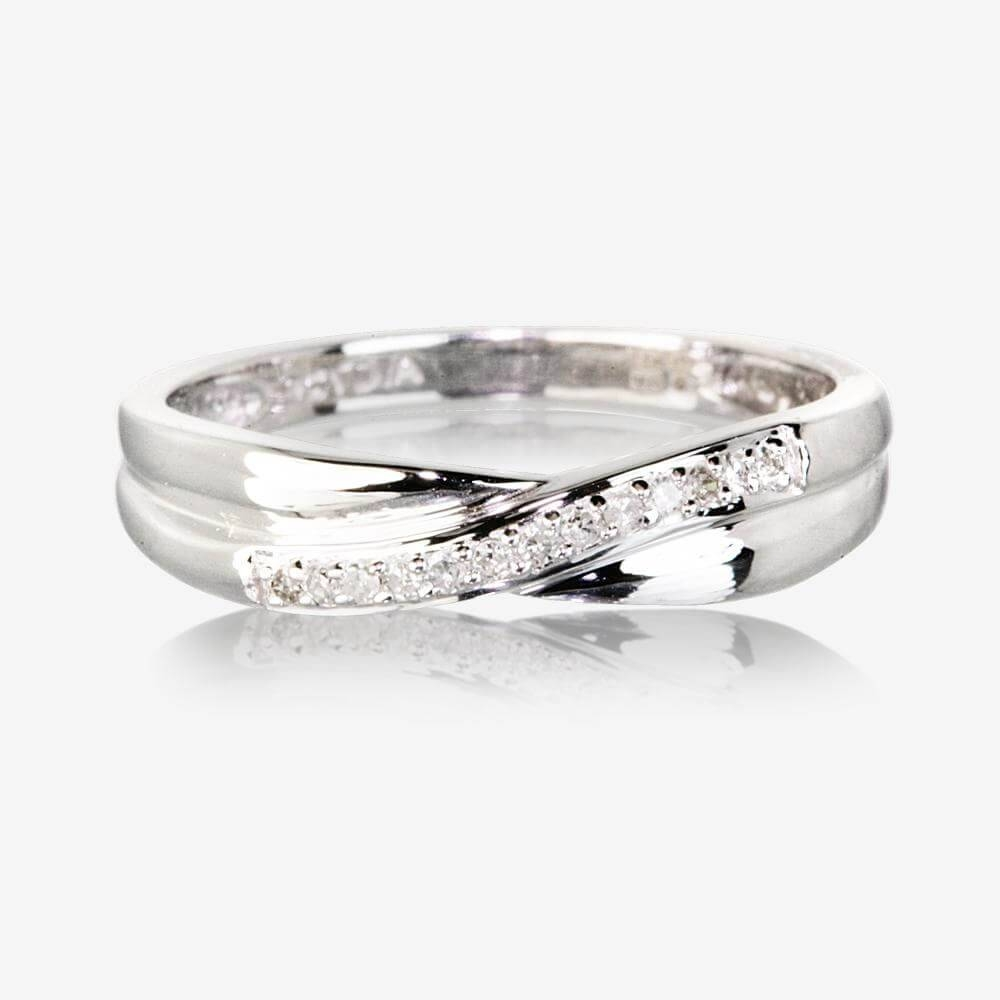Diamond Rings & Diamond Engagement Rings Inside Wedding Rings Bands With Diamonds (View 5 of 15)