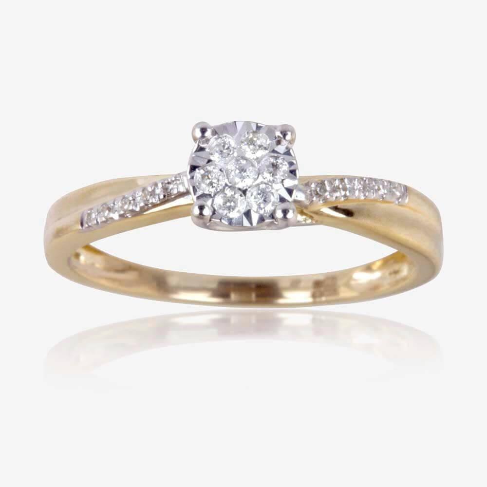 Diamond Rings Diamond Engagement Rings Rose Gold Engagement Rings Within Engagement Rings Under 200 (Gallery 12 of 15)