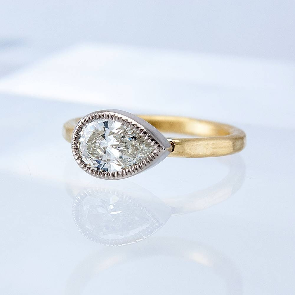 Diamond Rings — Fairbank And Perry Goldsmiths For Pear Bezel Engagement Rings (View 7 of 15)