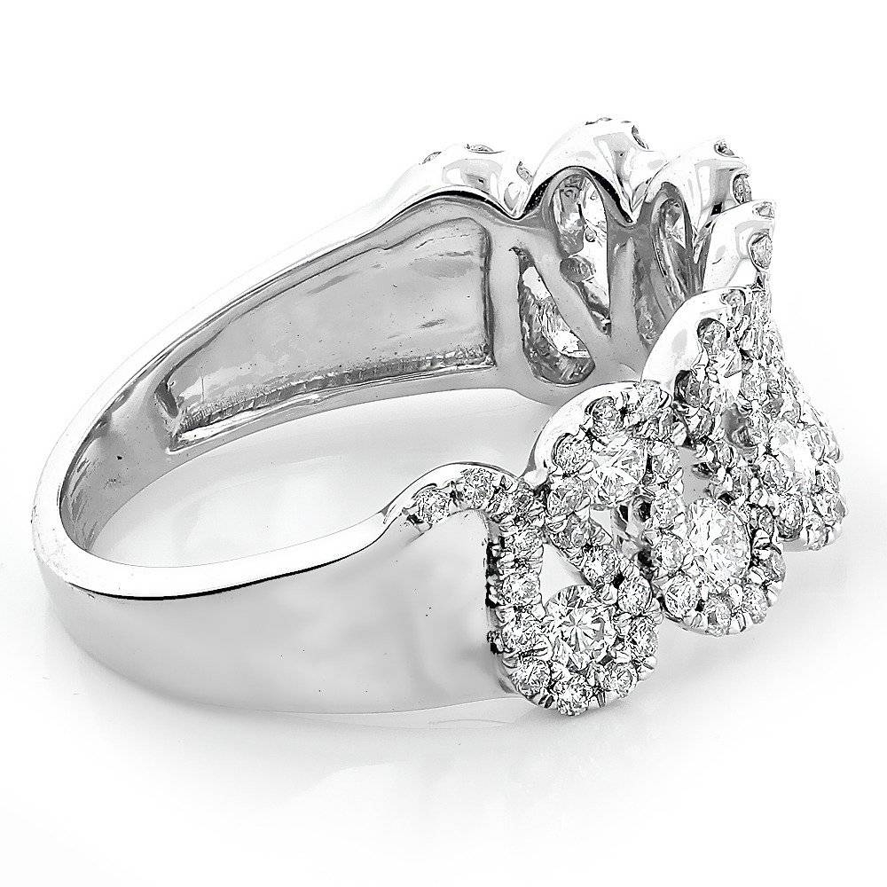 Diamond Wedding Bands For Women  (View 5 of 15)
