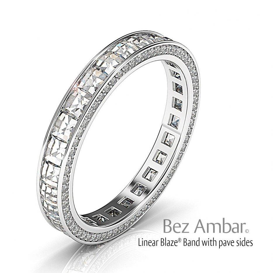 Diamond Wedding Bands For Womenbez Ambar Within Wedding Rings With Diamonds All Around (View 3 of 15)