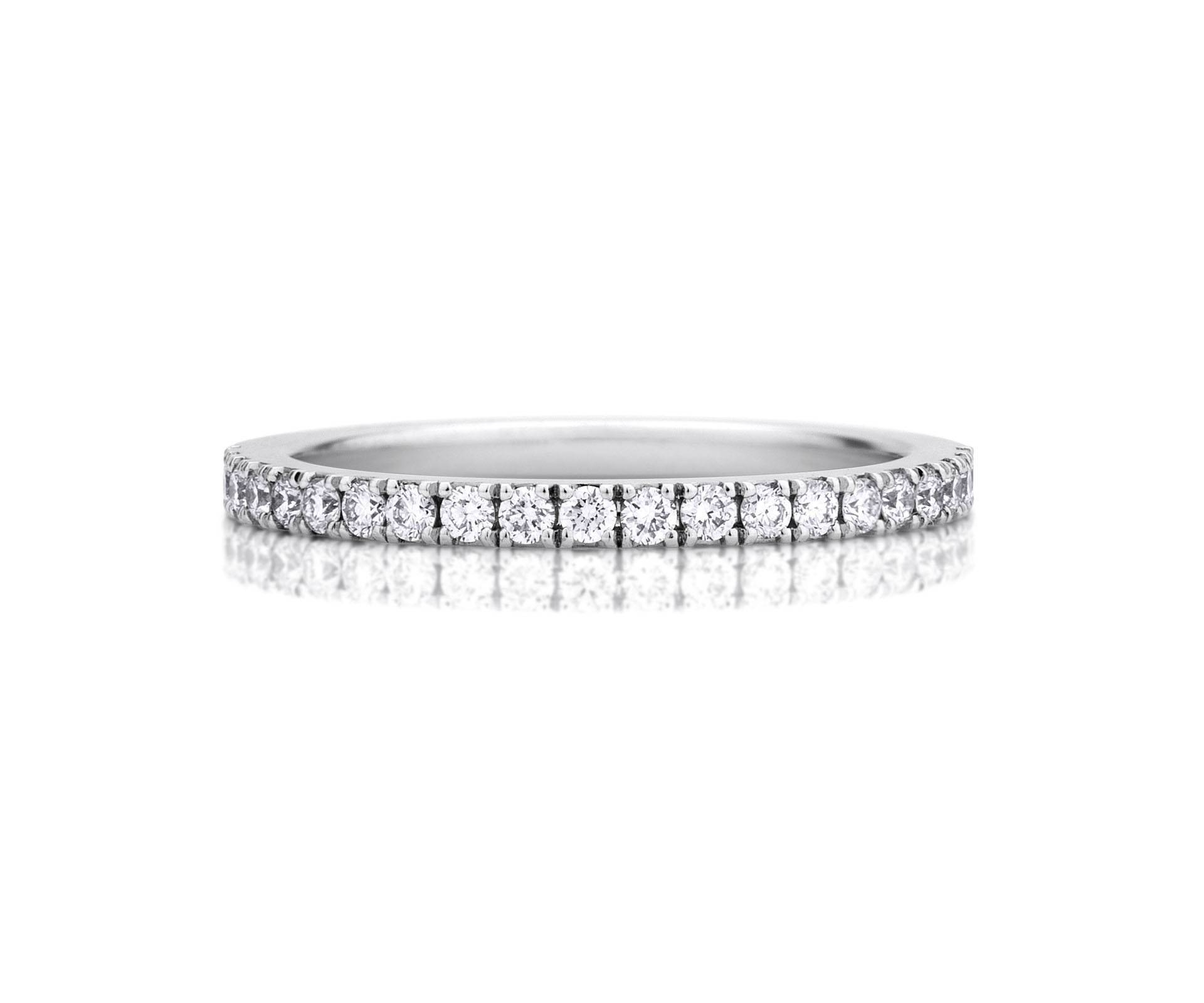 Diamond Wedding Rings & Bands | De Beers Throughout Floating Diamond Wedding Bands (View 7 of 15)