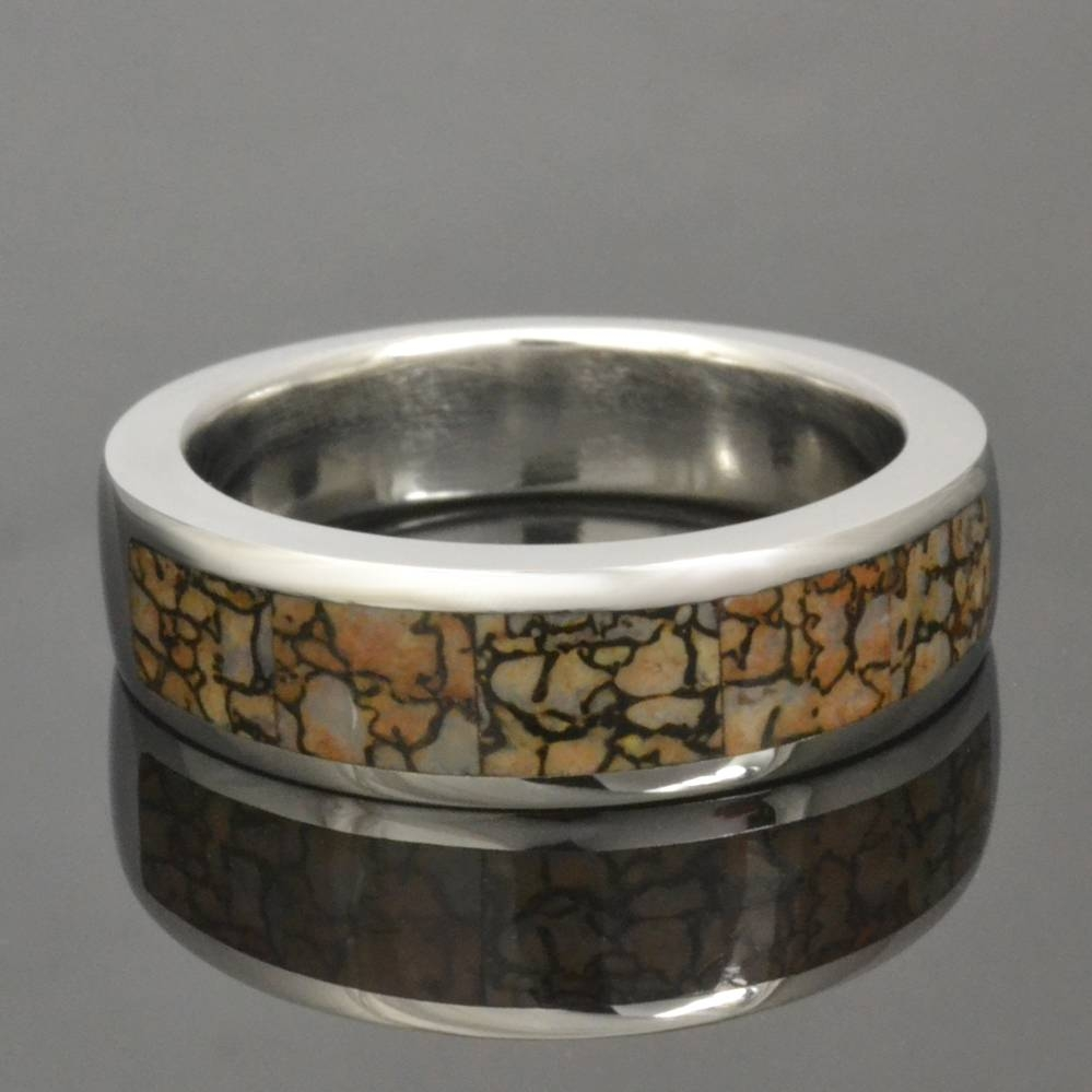 Dinosaur Bone Ring | Hileman Jewelry Blog – Dinosaur Bone Pertaining To Dinosaur Engagement Rings (View 3 of 15)