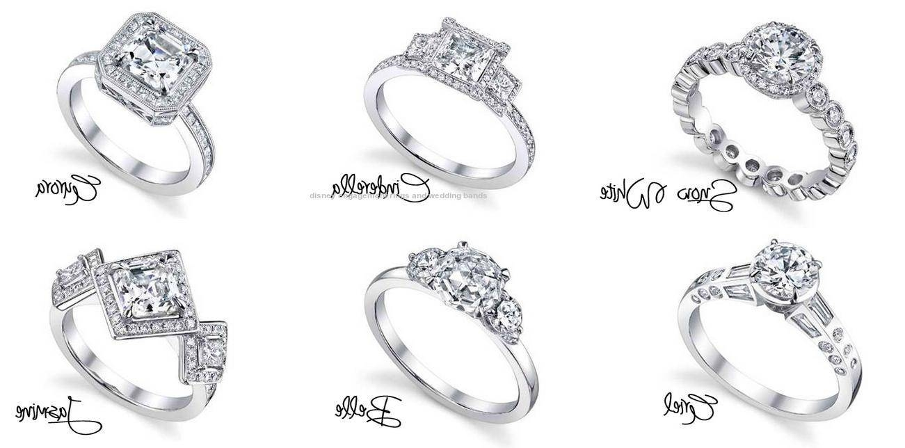 Disney Engagement Rings And Wedding Bands 2015 Inside Disney Engagement Rings And Wedding Bands (View 3 of 15)