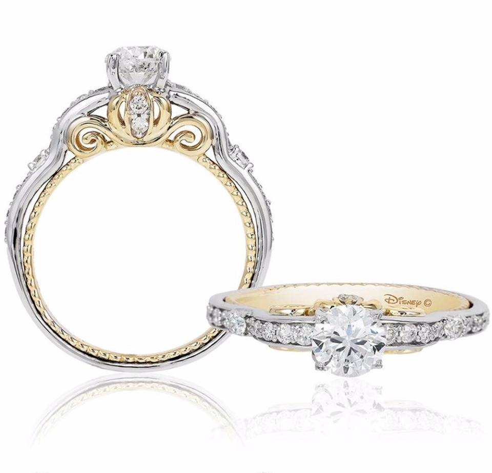 Disney Princess Inspired Wedding Ideas Intended For Disney Themed Engagement Rings (View 9 of 15)