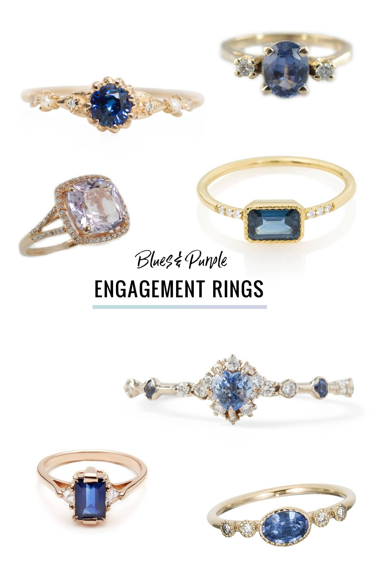 Ditch The Diamond — Alternative Engagement Rings Featuring A For Diamond Alternative Wedding Rings (View 9 of 15)