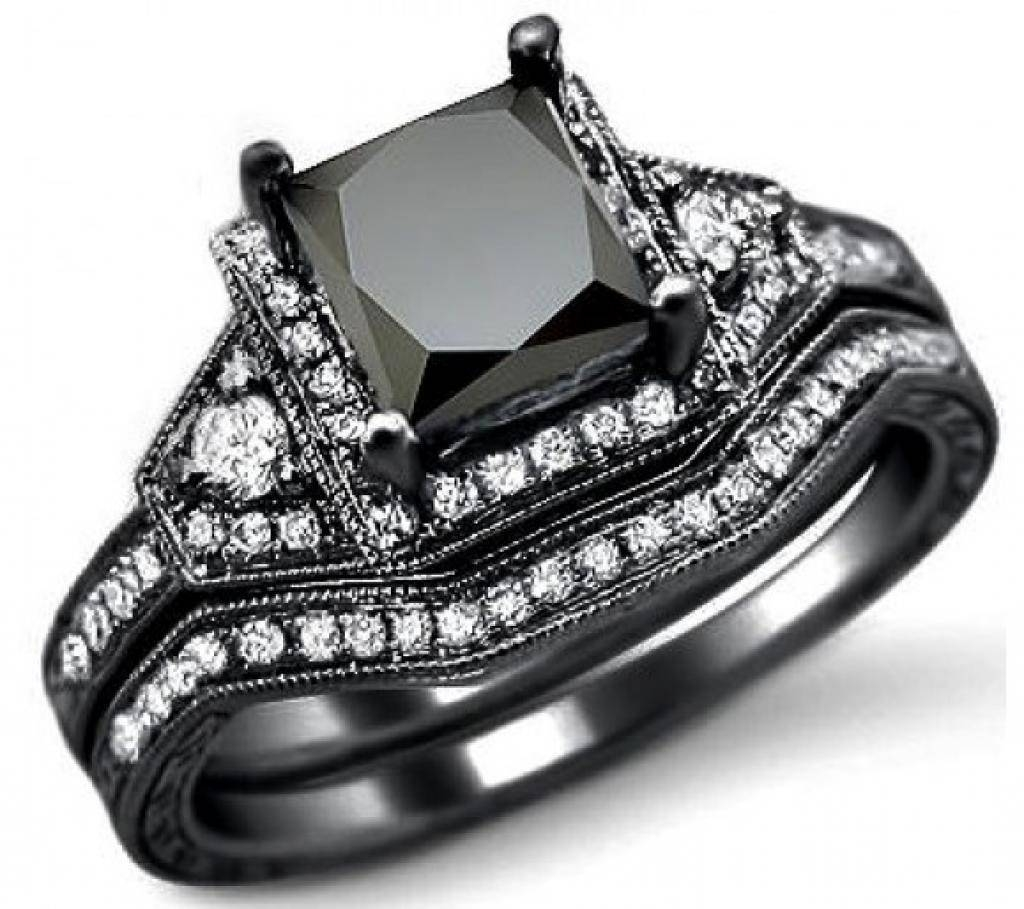 Download Black Diamond Wedding Rings For Her | Wedding Corners Pertaining To Black Diamond Wedding Rings For Her (View 8 of 15)