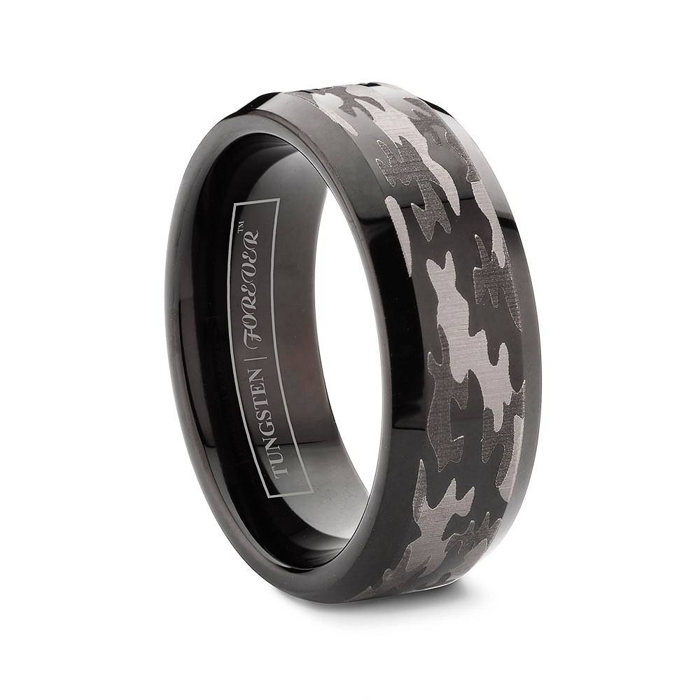 Duck Band Tungsten Wedding Rings For Men For Duck Hunting Wedding Bands (View 7 of 15)