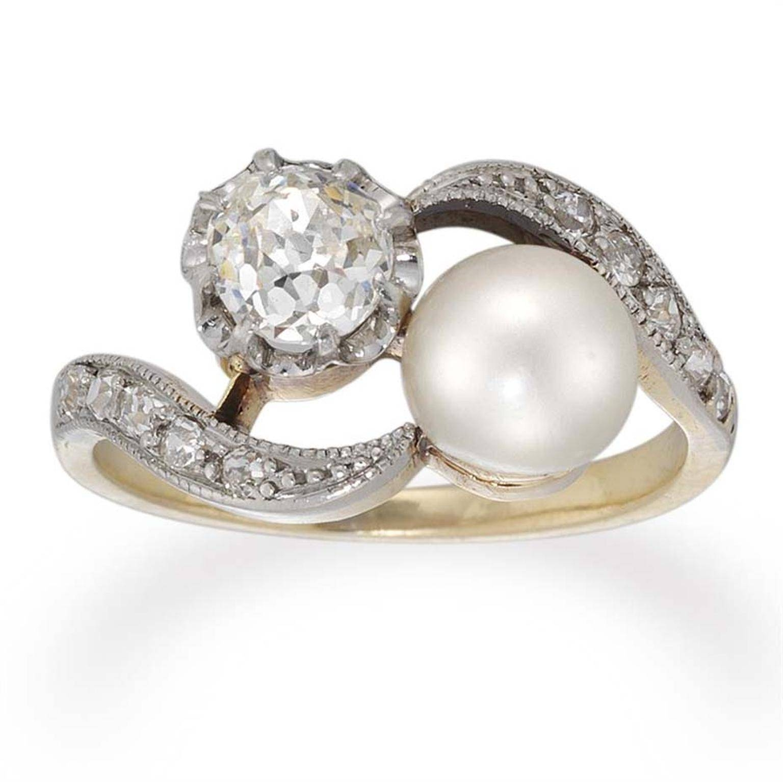 Edwardian Engagement Rings: Opulent And Feminine | The Jewellery For Feminine Engagement Rings (View 6 of 15)