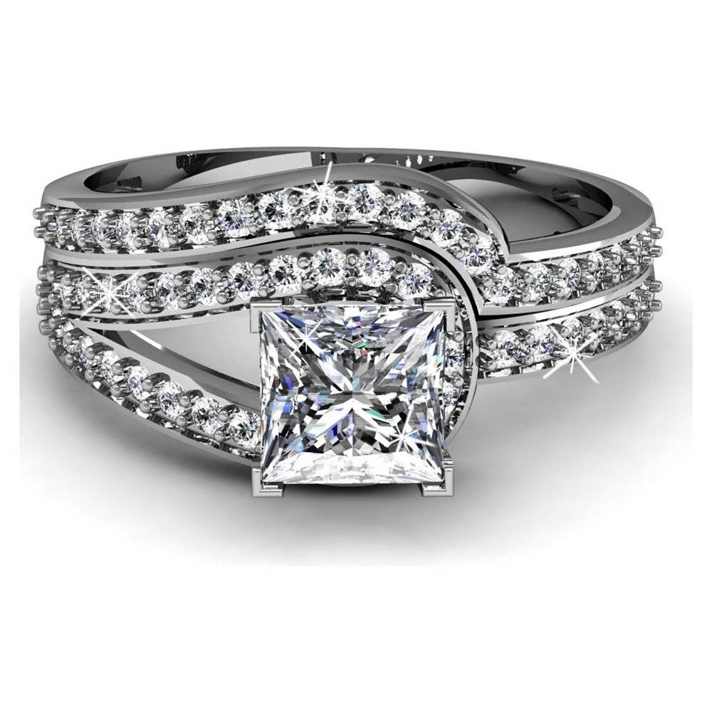 Elegant Diamond Wedding Bands For Women | Wedding Ideas Inside Unusual Diamond Wedding Rings (View 12 of 15)